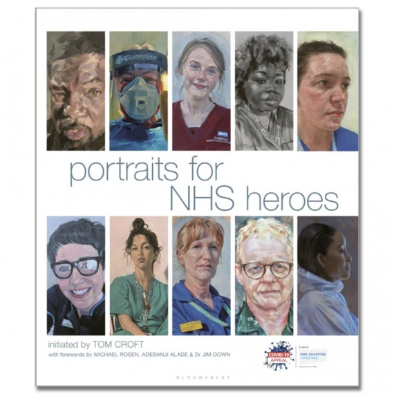 Portraits for NHS Heroes by Tom Croft