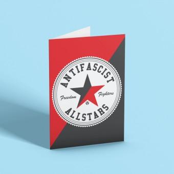 Antifascist Allstars Greetings Card