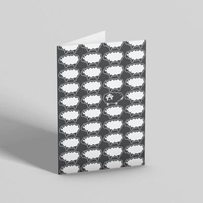 Black Sheep Greetings Card