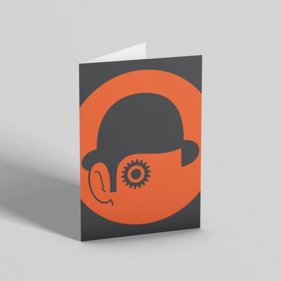 A Clockwork Orange Greetings Card