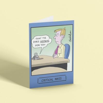 Critical Mass Greetings Card