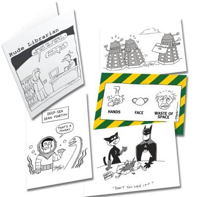 Five Random Kent Tayler Greetings Cards Multipack