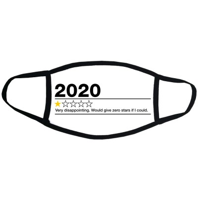 2020: One Star Review Face Mask