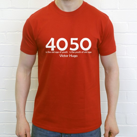 40 is the Old Age of Youth...