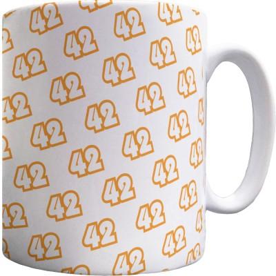 42 Pattern Mug