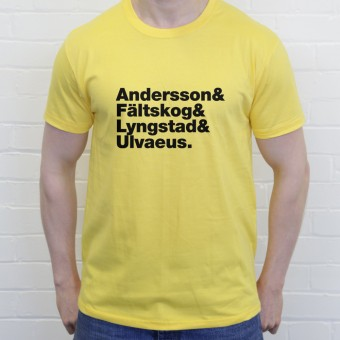 ABBA Line-Up T-Shirt