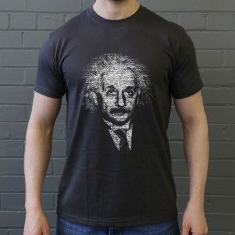 Albert Einstein Formulae T-Shirt