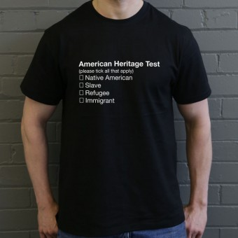 American Heritage Test T-Shirt