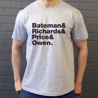 American Psycho Line-Up T-Shirt