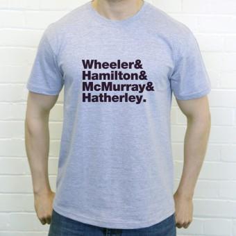 Ash Line-Up T-Shirt