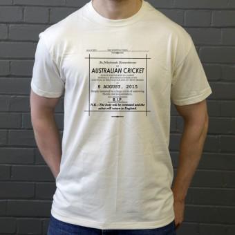 Ashes Obituary 2015 T-Shirt