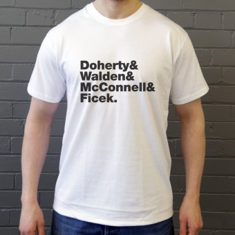 Babyshambles Line-Up T-Shirt