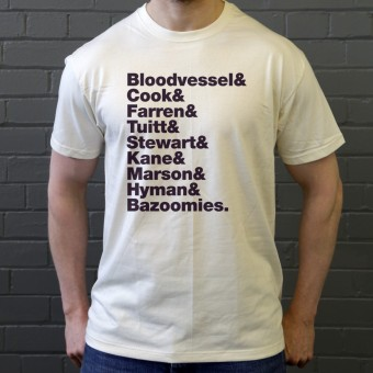 Bad Manners Line-Up T-Shirt