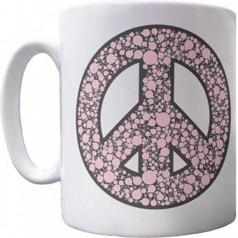 Ban the Bomb Ceramic Mug