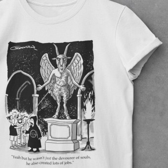 Baphomet Statue T-Shirt