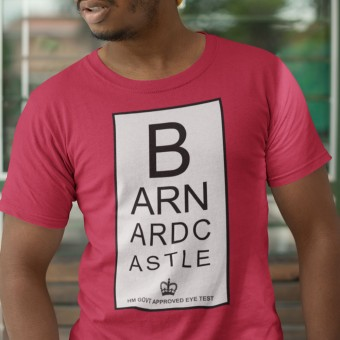 Barnard Castle Eye Test T-Shirt