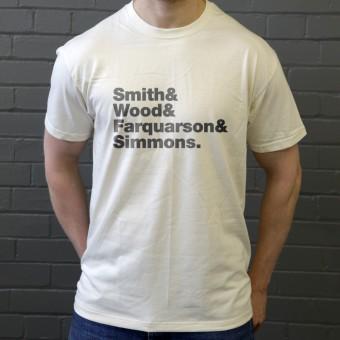 Bastille Line-Up T-Shirt