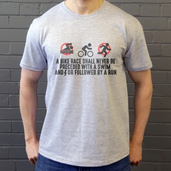 A Bike Race T-Shirt