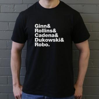 Black Flag Line-Up T-Shirt