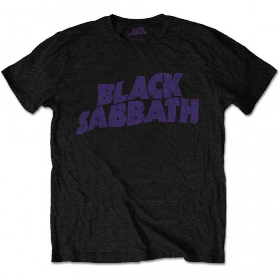 "Black Sabbath ""Wavy Logo"" Officially Licenced T-Shirt"