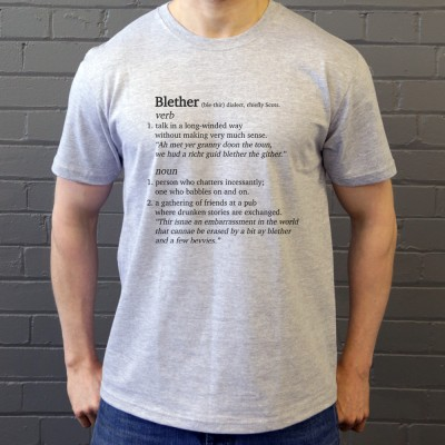 Blether Definition