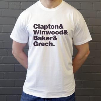 Blind Faith Line-Up T-Shirt