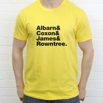 Blur Line-Up T-Shirt