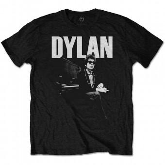 """Bob Dylan """"At Piano"""" Officially Licenced T-Shirt"""