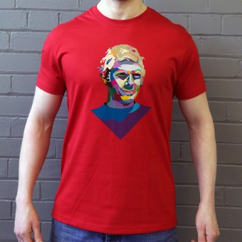 Bobby Moore Colour Block T-Shirt