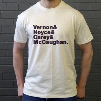 Bon Iver Line-Up T-Shirt