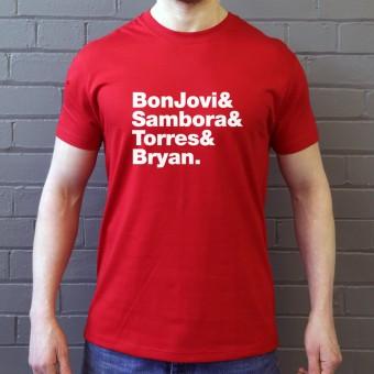 Bon Jovi Line-Up T-Shirt