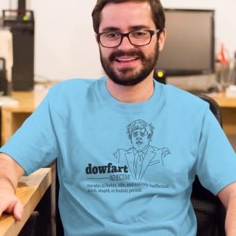 """Boris Johnson """"Dowfart"""" T-Shirt"""