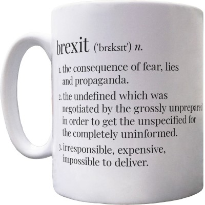 Brexit Definition Ceramic Mug