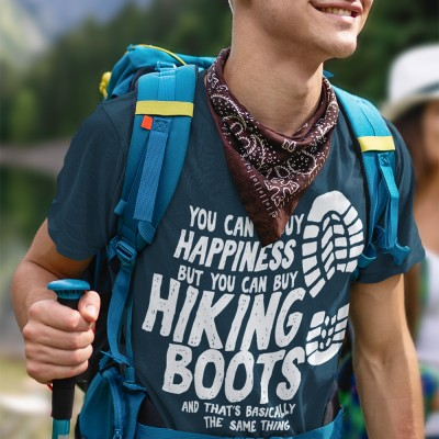 You Can't Buy Happiness But You Can Buy Hiking Boots