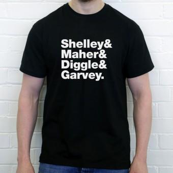 Buzzcocks Line-Up T-Shirt