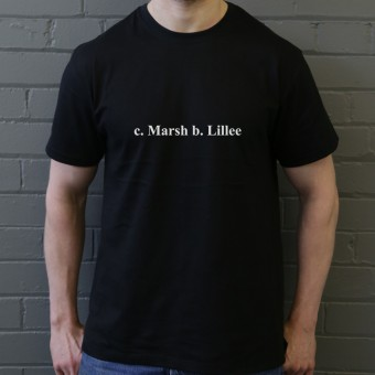 Caught Marsh, Bowled Lillee T-Shirt
