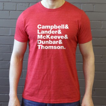 Camera Obscura Line-Up T-Shirt