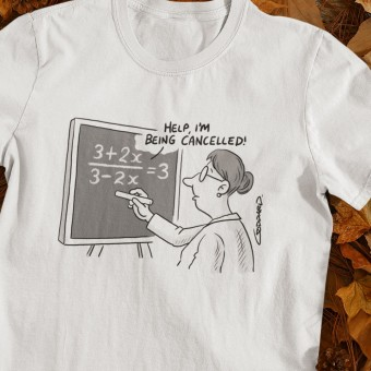 Maths: Cancelled T-Shirt