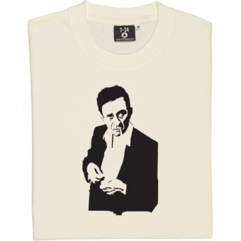 Johnny Cash Cigarette Design T-Shirt