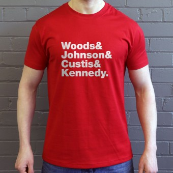Chairmen Of The Board Line-Up T-Shirt