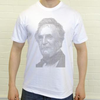 Charles Babbage ASCII Art T-Shirt