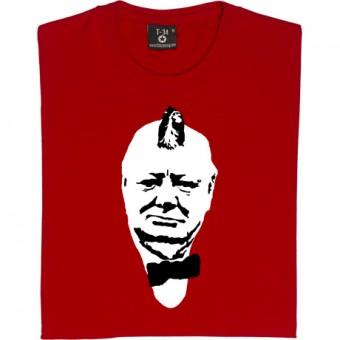 Winston Churchill Mohican T-Shirt
