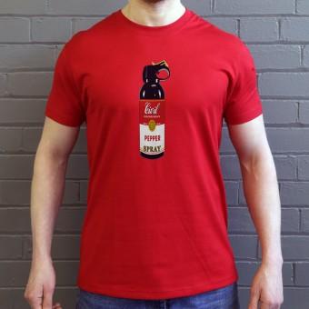 Civil Disobedience Pepper Spray T-Shirt