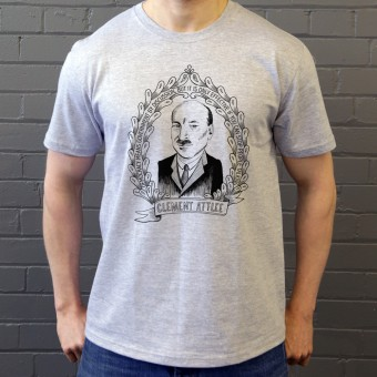 "Clement Attlee ""Democracy"" Quote T-Shirt"