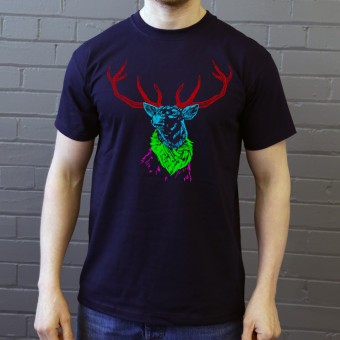 Psychedelic Deer Variant One T-Shirt
