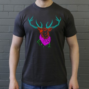 Psychedelic Deer Variant Three T-Shirt