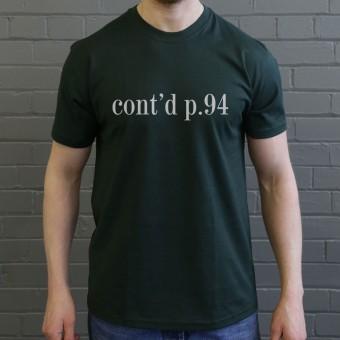Cont. p94 T-Shirt