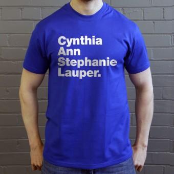 Cynthia Ann Stephanie Lauper T-Shirt