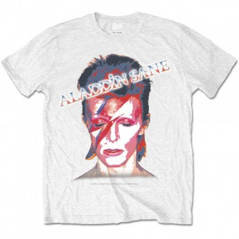 "David Bowie ""Aladdin Sane"" Officially Licenced T-Shirt"