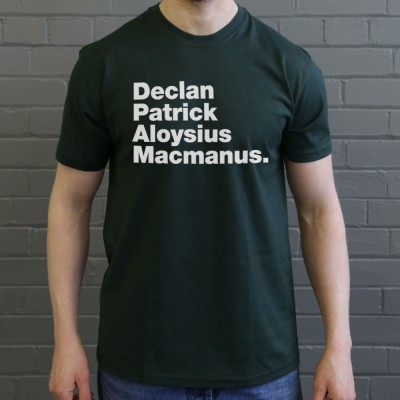 Declan Patrick Aloysius Macmanus
